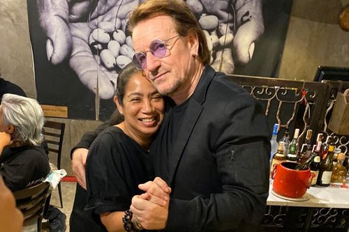 From lechon to diwal pasta: What Bono and company have been eating in Manila — so far