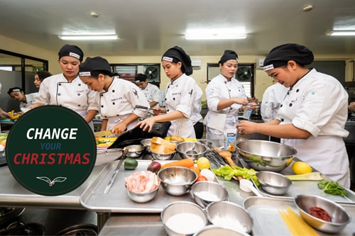 This hospitality and culinary school is transforming the lives of underprivileged Filipinas