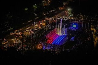 LOOK! Manila's P40M musical dancing fountain at Andres Bonifacio monument is here