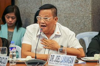 Joel Lamangan's message at today's senate hearing is a moving statement on freedom of speech