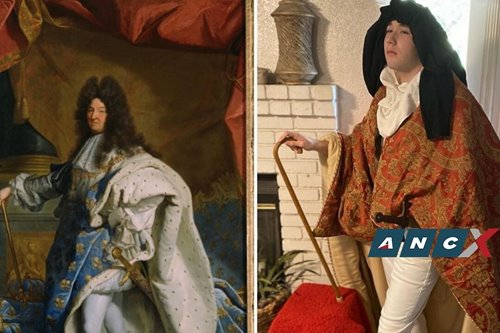This online challenge has people recreating classic artworks using stuff from their homes