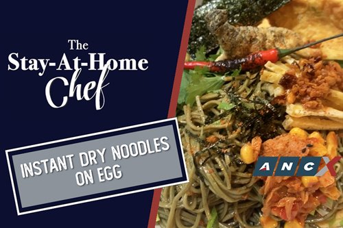 "Chef JP Anglo makes his very own foolproof version of ""instant"" noodles 