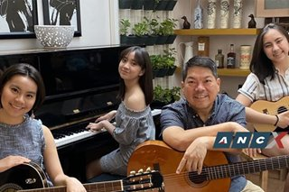 Back in the habit: Binalot's CEO dusted off his old guitar and now jams with the family after dinner