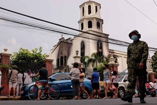 Why the sight of a burning Pandacan Church made people cry