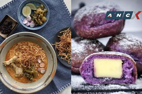 Here's where you can order great Khao soi in Manila and pillowy Korean-style ube cheese doughnuts