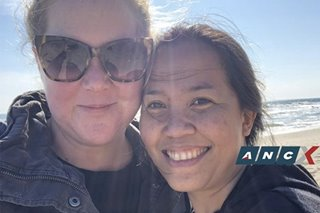 Amy Schumer just shared her Emmy nomination with her nanny who is from the Philippines