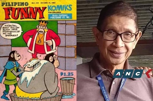 At 80, Funny Komiks cartoonist Roni Santiago is still working and making people laugh