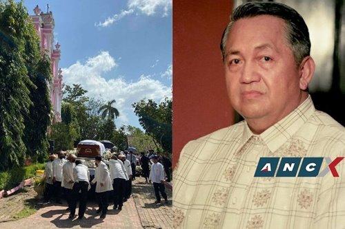 Don Ado Escudero, patron of Intramuros and creative master of Villa Escudero, is laid to rest