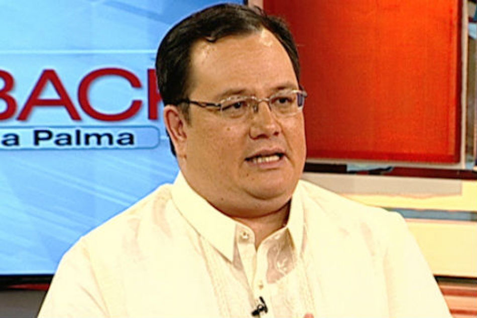 COA chairperson Michael Aguinaldo