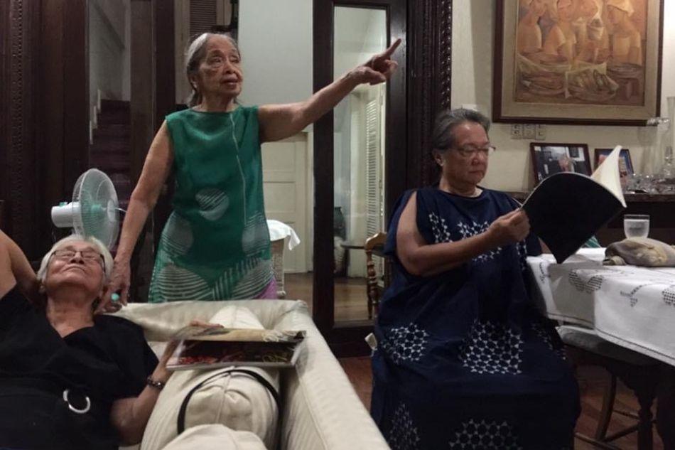 Sylvia Mayuga, Virgie Moreno, Adelaida Lim