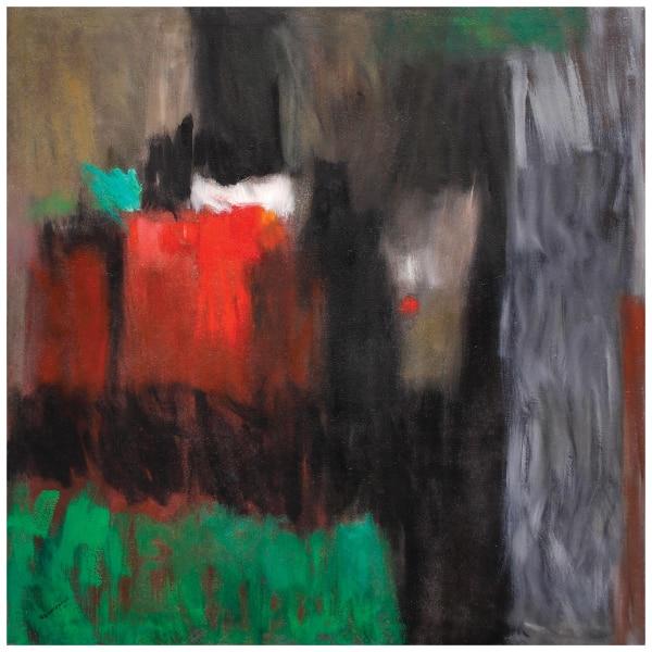 Florencio B. Concepcion's Green Graffiti with Red