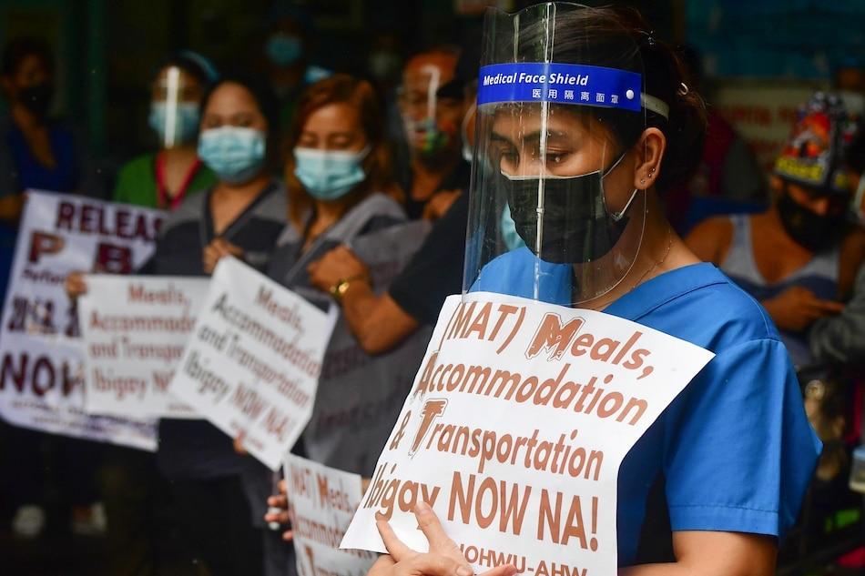 Filipino healthcare workers