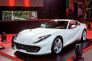 The menacing facade and invisible sorcery of the 812 Superfast