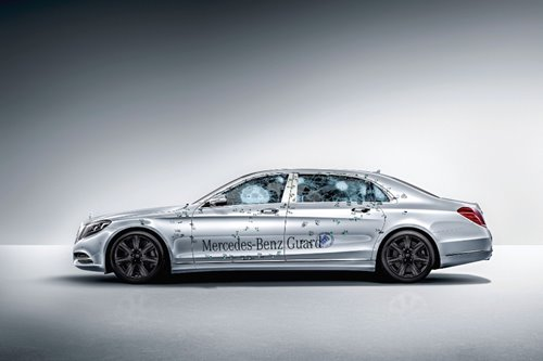 The Benz S 600 Guard: protector of power players