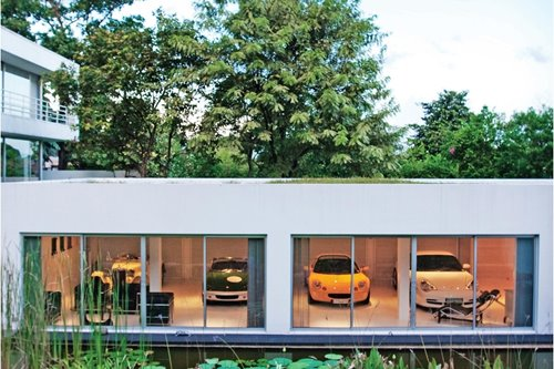 The ultimate garage (and what it takes to build one)