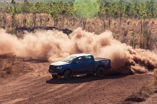 Driving the Ford Ranger Raptor in the great Aussie outback