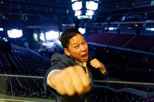 The singular ambition of mixed martial arts impresario Victor Cui