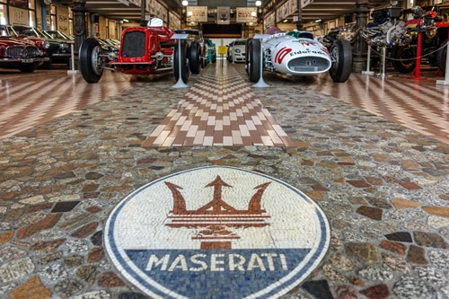 The sticker book magnate who bought 19 rare Maseratis to preserve a city's racing heritage