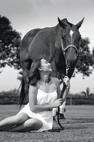 She's the one: Meet polo player Kim Lofgren 6