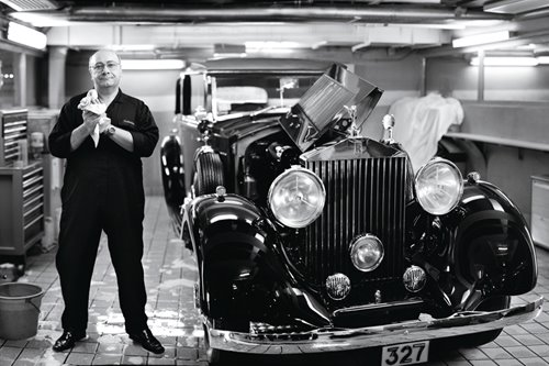 Meet the steward to Peninsula's fleet of Rolls-Royces