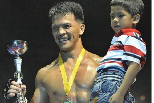 How this dad raised a fighter: Team Lakay's Mark Sangiao on his budding MMA champ
