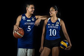 Kat and Vince Tolentino—how two siblings embraced change and adversity to bring glory to Ateneo