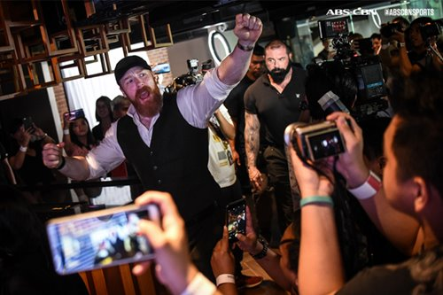 "Wrestling champion Sheamus: ""A WWE star can definitely come out of the Philippines"""