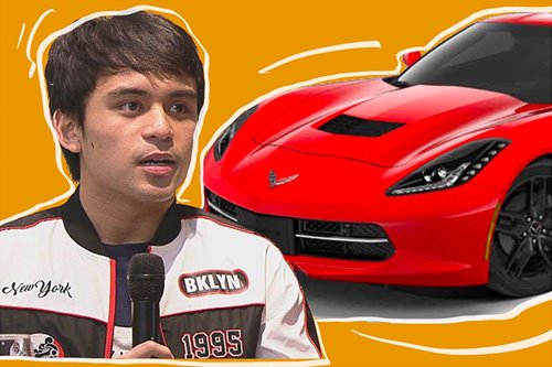 Jimuel Pacquiao's first car is a Corvette Stingray — and here's how much you need to get one
