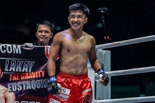 Inspired by his son, Geje Eustaquio starts on the path of reclaiming his world title