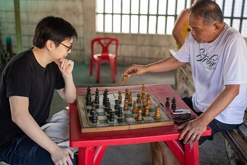 "The day Efren ""Bata"" Reyes destroyed me at chess"