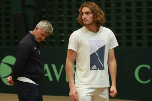 In case you missed it—top tennis player Stefanos Tsitsipas is in Manila