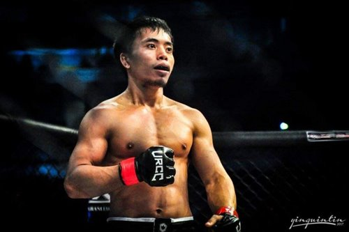 Filipino MMA fighter Ernesto Montilla is ready for the international big leagues
