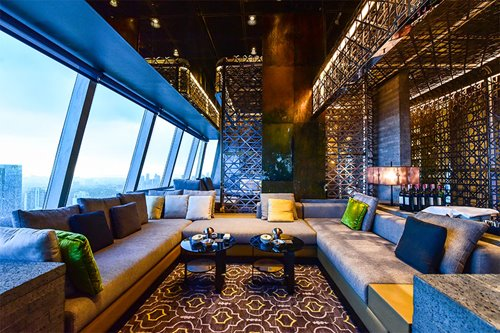 The latest spot to drink, dine, and party is on top of the tallest building in the city