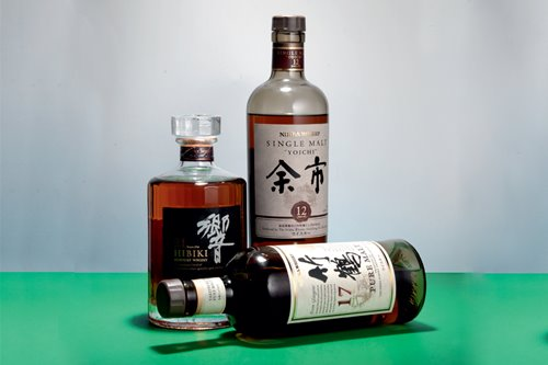 Here are a few of Japan's accomplished, deluxe whisky brands