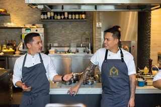 When two chefs and one bartender collide to create a meal to remember at Helm