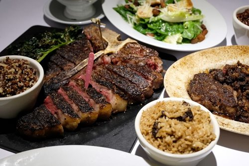 The steaks are just as good at Mamou's newest, grandest branch to date