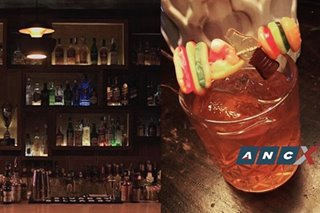 Nokal's Big Daddy plays with tequila, Aperol, blood orange—and gummy candy