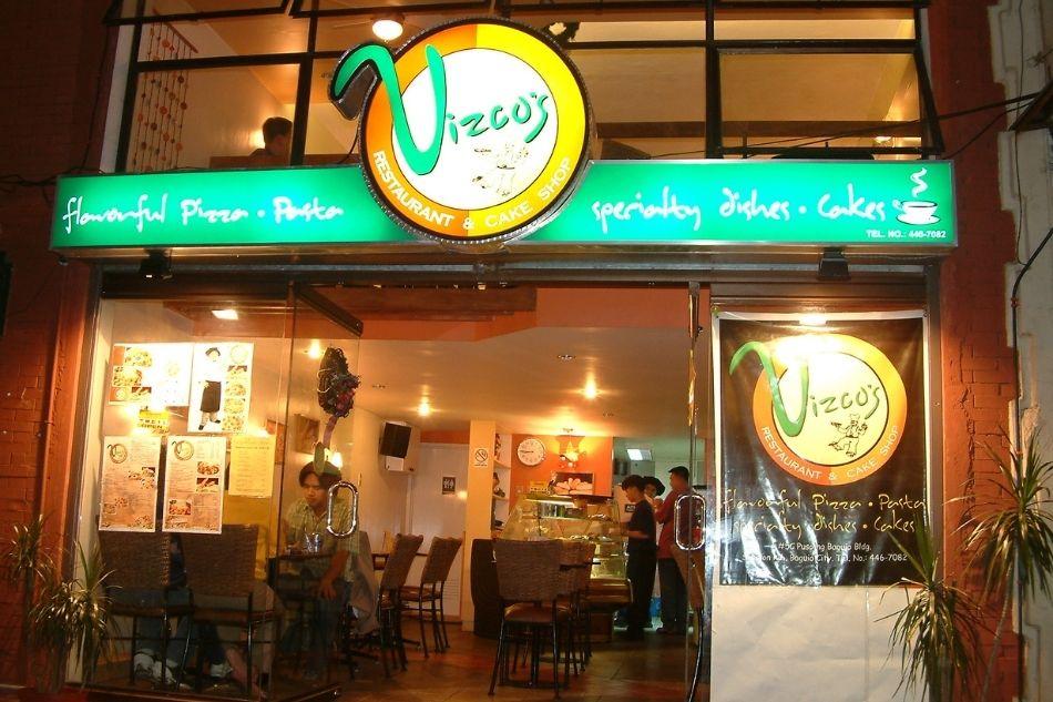 Vizco's at Session Road