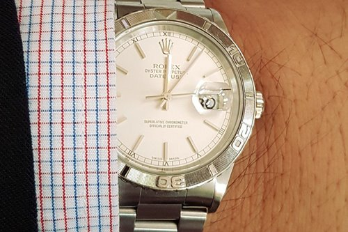 My first Rolex, and why every man should own a nice watch