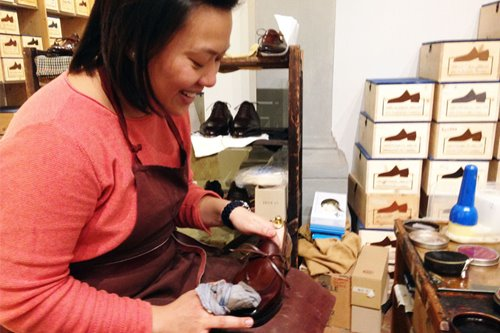 The charmed life of a Filipina shoemaker in Florence