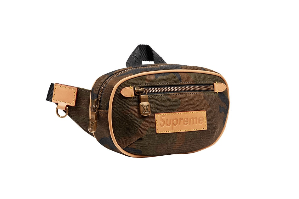 916ae83e5 Louis Vuitton x Supreme Bumbag PM. Supreme Official Website. Night Courrier  soft GG Supreme belt bag. Gucci Official Website