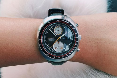 She got to know her late father through the Seikos he left