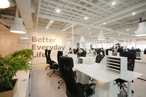ANCXclusive: IKEA's bright Manila HQ makes the open office idea cool again