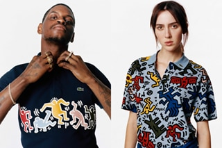 Lacoste honors Keith Haring, the visionary who defined the New York pop art scene