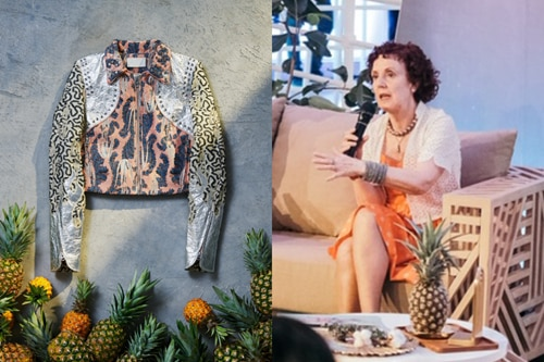 For Carmen Hijosa, the future of fashion is dressed in pineapples