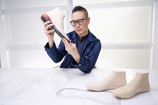 Tod's taps a South Korean design star for its new must-have, the comfortably chic shoeker