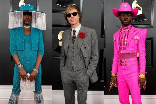 IN PHOTOS! All the crazy and crazy good looks the men sported at the Grammys 2020