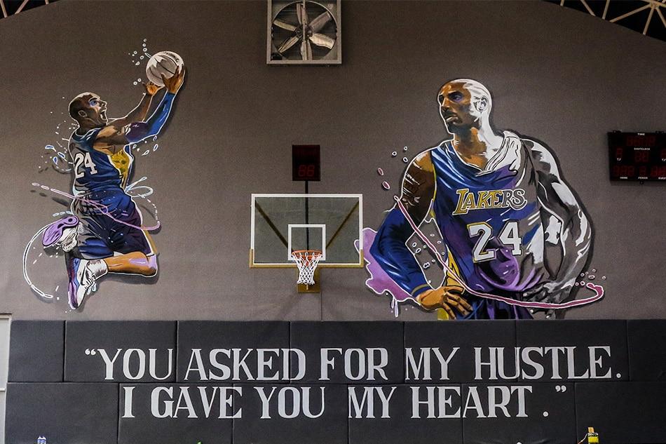 In this basketball court in Valenzuela, Kobe Bryant's spirit lives forever 4