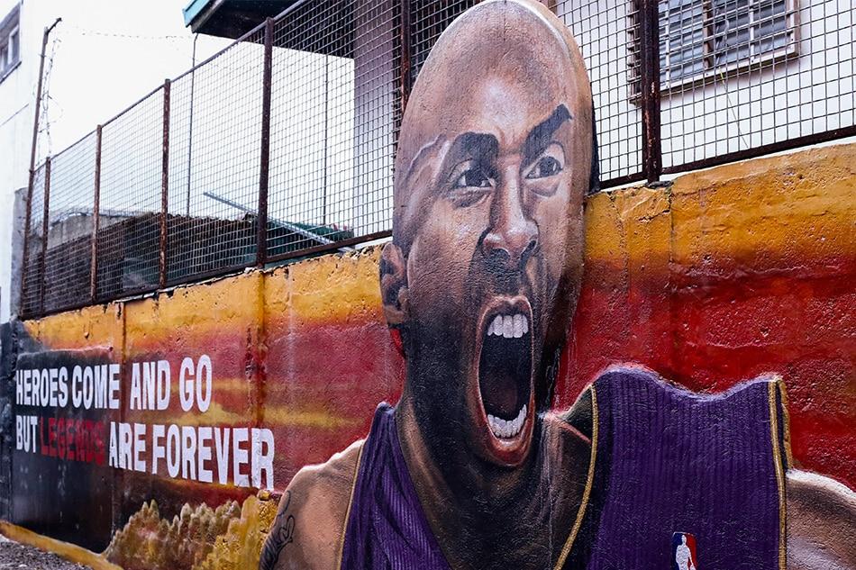 In this basketball court in Valenzuela, Kobe Bryant's spirit lives forever 2