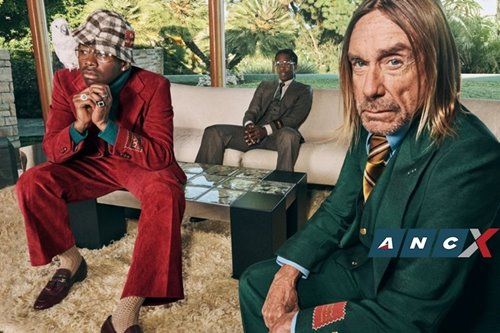 A$AP Rocky, Iggy Pop and Tyler, The Creator goof about in L.A. in the name of style